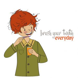 Brush Teeth Daily To Help Avoid Cavaties